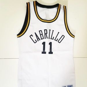Vtg russel athletic Cabrillo basketball jersey szS